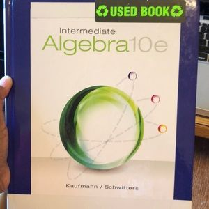 Algebra book 10e